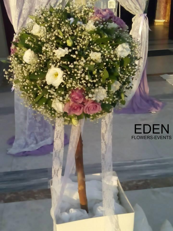 EDEN FLOWERS | Ανθοστολισμοί Γάμων, Βαπτίσεων, Εταιρικών και Επαγγελματικών Events, Στολισμοί Εκκλησιών, Νυφικών Α